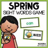 Buzz!  Sight Word Bang! Game