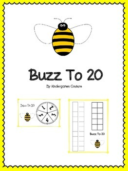 Buzz To 20 - A Place Value Game