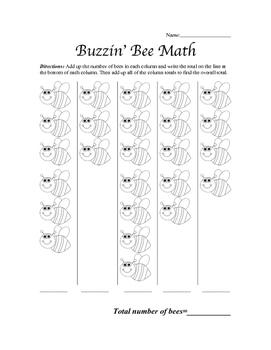 Buzzin' Bee Math