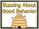 Buzzin' Bees Behavior Clip Chart