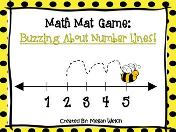 Number Line Mats
