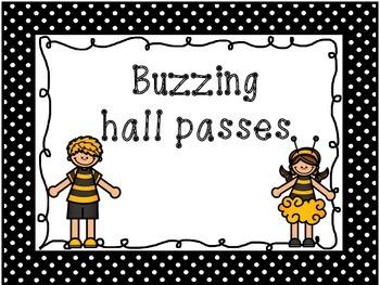 Buzzing hall passes