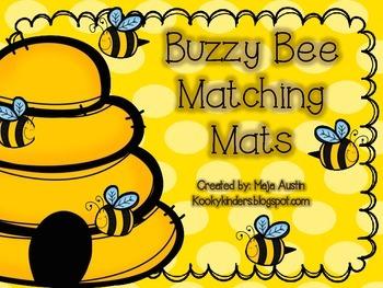 Buzzy Bee Letter Matching Mats