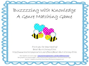 Buzzzing With Knowledge - A Genre Game