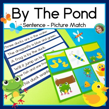 By The Pond Sentence Picture Match