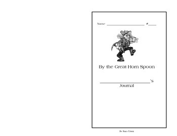 By the Great Horn Spoon Diary Activity