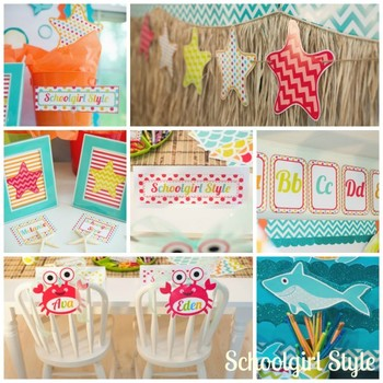 Classroom Decor By the Sea - Ocean Full Collection