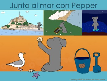 By the Sea with Pepper in Spanish