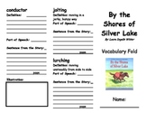 By the Shores of Silver Lake Vocabulary Fold-able
