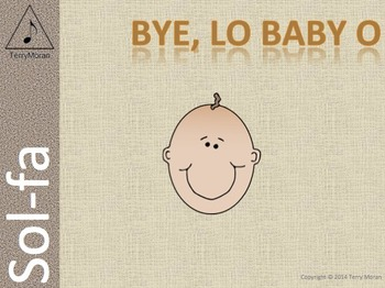 Bye, Lo Baby, O – Sol-fa Pack