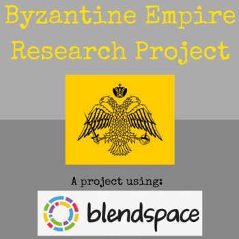 Byzantine Empire Research Project