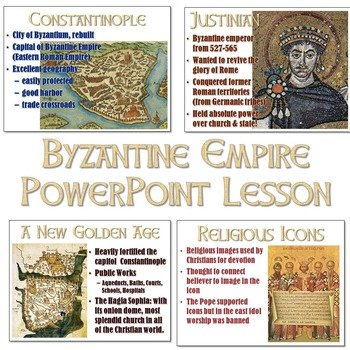 Byzantine Empire and Constantinople PowerPoint