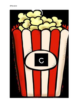 C, K or -ck Popcorn -Orton Gillingham