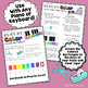 The C Major Scale ~ A Piano for Preschool Color-Coded Song Sheet