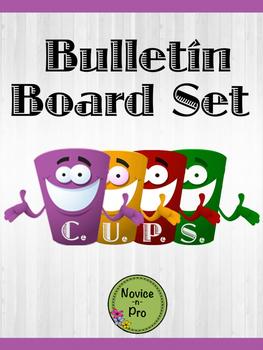 C.U.P.S. Bulletin Board Set