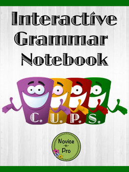 C.U.P.S. Interactive Grammar Notebook