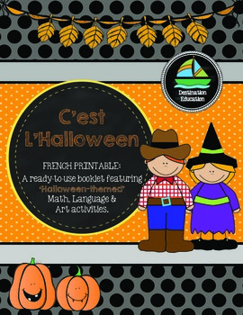 C'est L'Halloween - French Immersion Printable