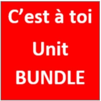C'est à toi 2 Unité 5 Bundle