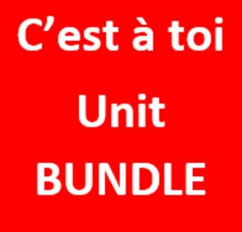 C'est à toi 1 Unité 6 Bundle