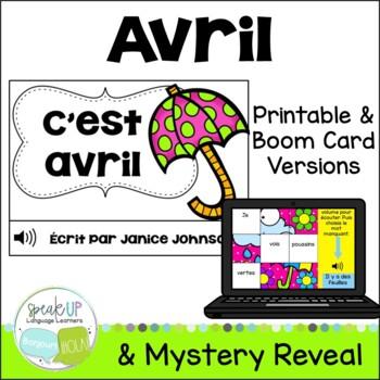 C'est avril~ French April reader {livre en français}