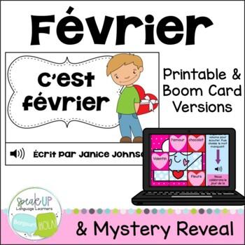 C'est février ~French February reader {livre en français}