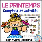 C'est le printemps! (Comptines et activités) French Spring