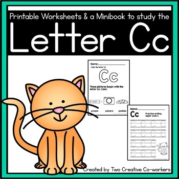 Letter C { Alphabet Practice }