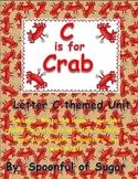 C is for Crab (Letter C Unit)