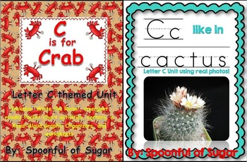 C is for Crab/C Like in Cactus (2 Complete Letter C Units)