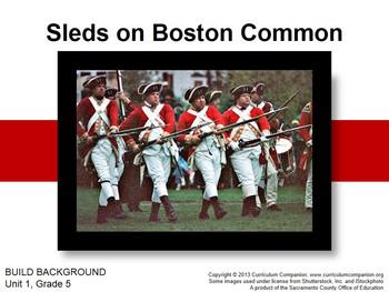 CA Treasures Sleds on Boston Common Grade 5 Unit 1 (Common