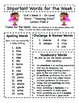 Treasures - Grade 3 - Unit 1 Spelling Word Lists