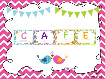 CAFE Bird Theme Daily 5 Posters