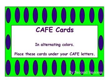 CAFE Cards Polka Dots