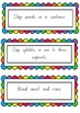 CAFE Cards for Emergent readers