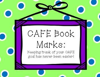 CAFE Goal Bookmarks