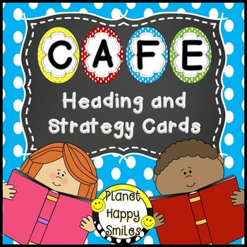 Reading Strategy Cards, Letters, and Posters