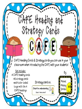CAFE Letters, Posters, and Strategy Cards (Multi Color Pol