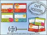 CAFE Poster Set