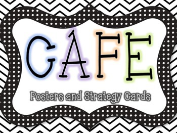 CAFE Posters and Reading Strategy Cards