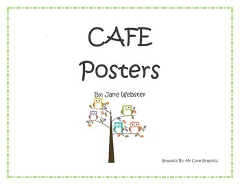 CAFE Posters with Owls
