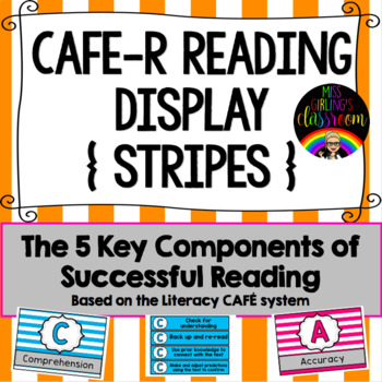 CAFE-R Reading Display - How to be a Successful Reader (Stripes)