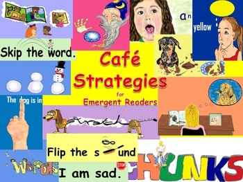 CAFE Strategies Pictures for Emergent Readers