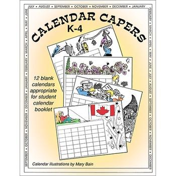 CALENDAR CAPERS (STUDENT CALENDAR BOOKLET)