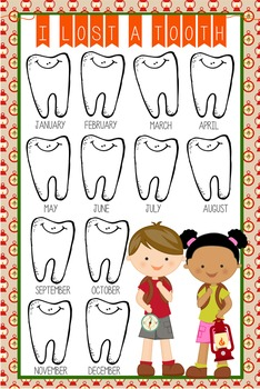 CAMPING - Classroom Decor: I lost a TOOTH - size 24 x 36