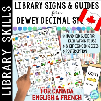 CANADA VERSION: Dewey Decimal Call Number Guide for the Sc
