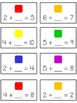 CANDY LAND Fun Math Folder Game  Finding Missing Part Adde