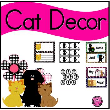 CAT CLASSROOM DECOR