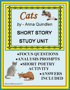 CATS by Anna Quindlen Short Study Unit