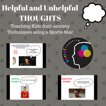 CBT Anxiety Prevention; Toews teaches about Helpful and Un