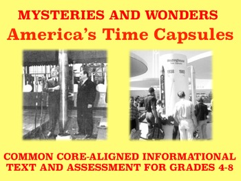 Mysteries and Wonders Passage and Assessment #12: America'